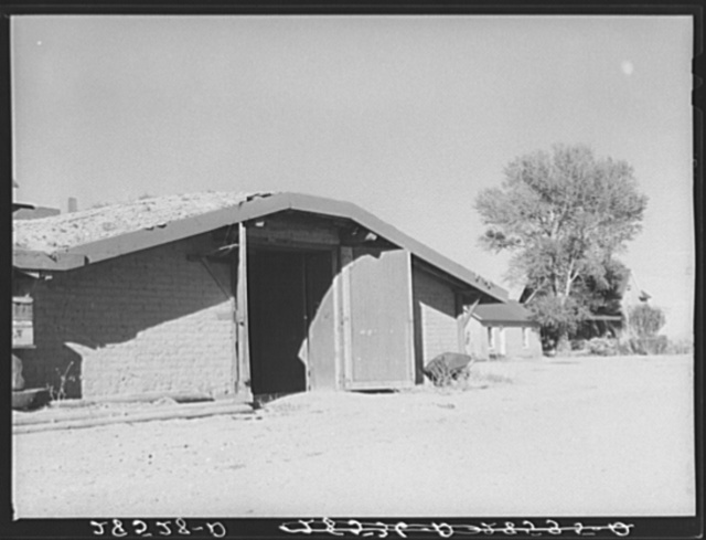 Potato storage cellar. Rio Grand County, Colorado