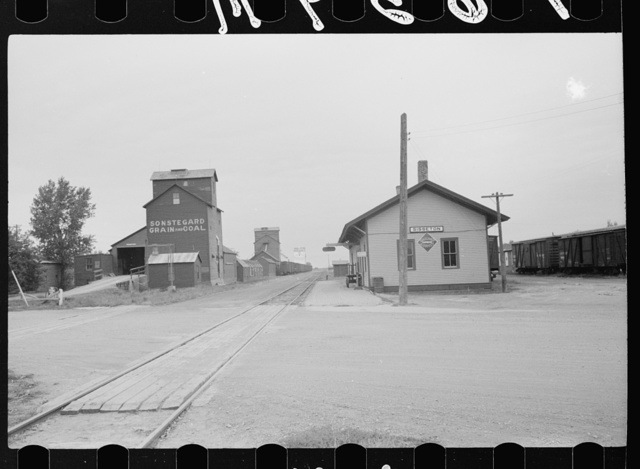 Railroad station, Sisseton, South Dakota