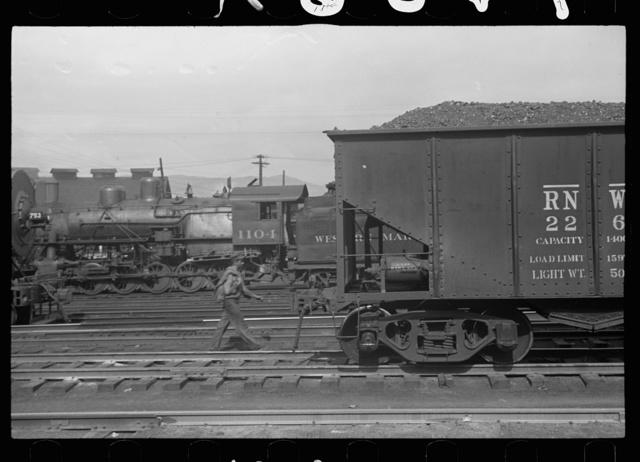 Railroad yards, Elkins, West Virginia