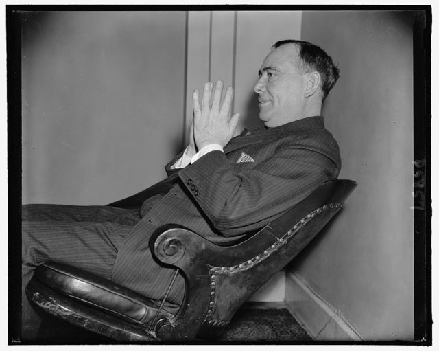 Rep. Joseph W. Martin, Jr., House Minority Leader, 2-18-39