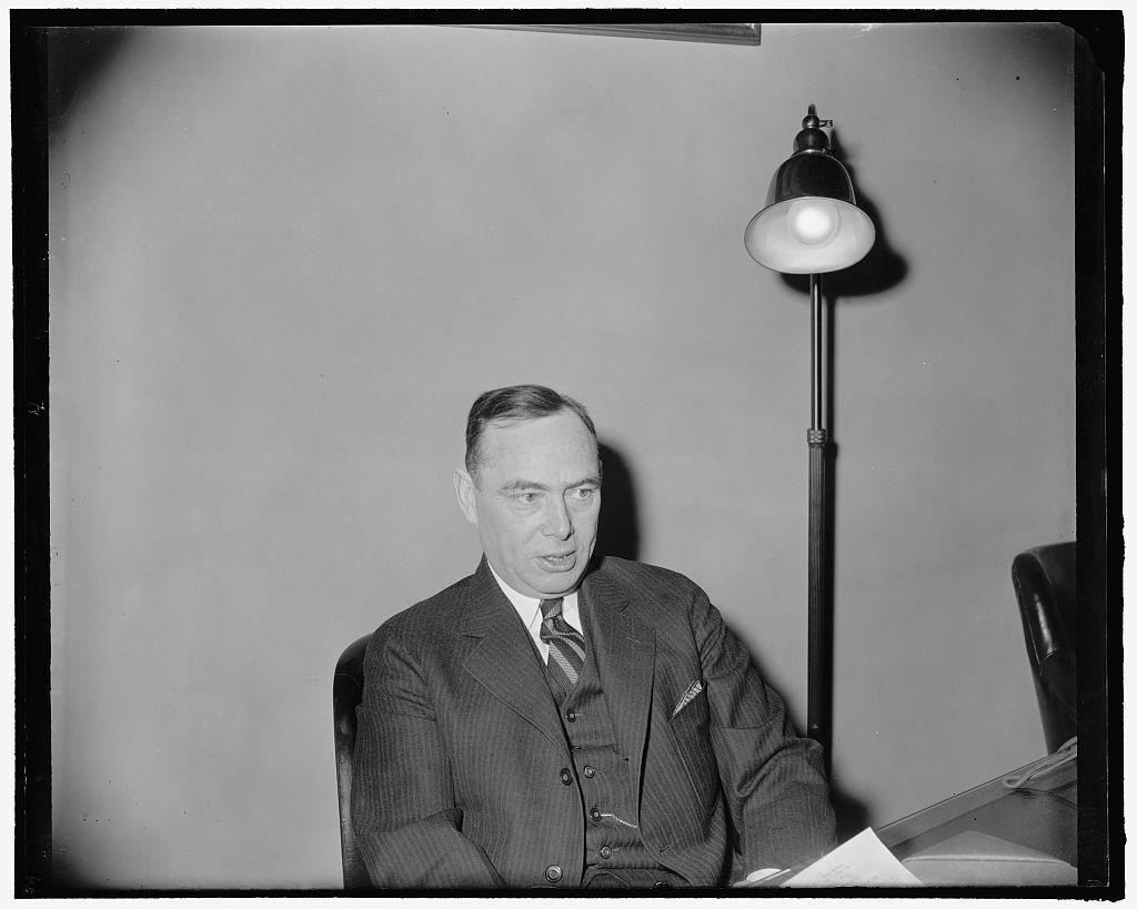 [Rep. Joseph W. Martin, Jr., House Minority Leader, 2-18-39]