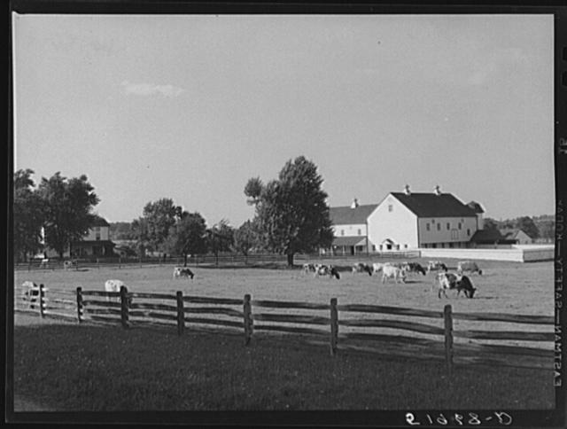 Rich farmland. Lancaster County, Pennsylvania