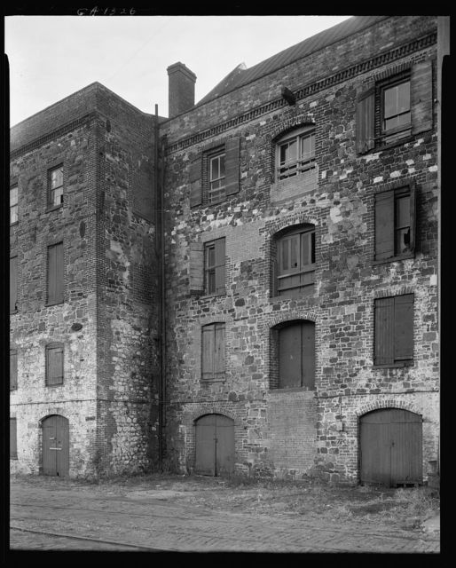 River Street Warehouses, Savannah, Chatham County, Georgia