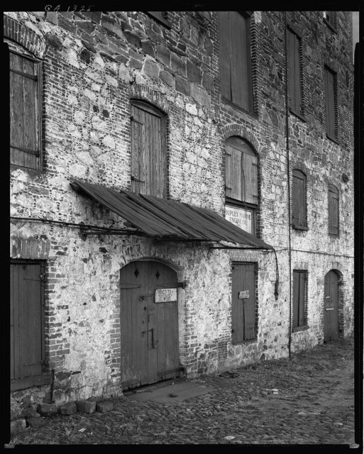 River Street Warehouses, Savannah, Chatham County, Georgia