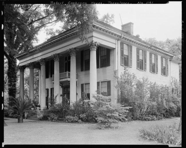 Robert Cochrane House, Tuscaloosa, Tuscaloosa County, Alabama