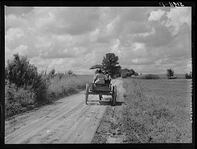 Rural South Carolina near Manning