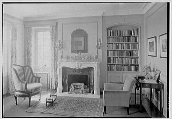 Rush Sturges, residence in Wakefield, Rhode Island. Library