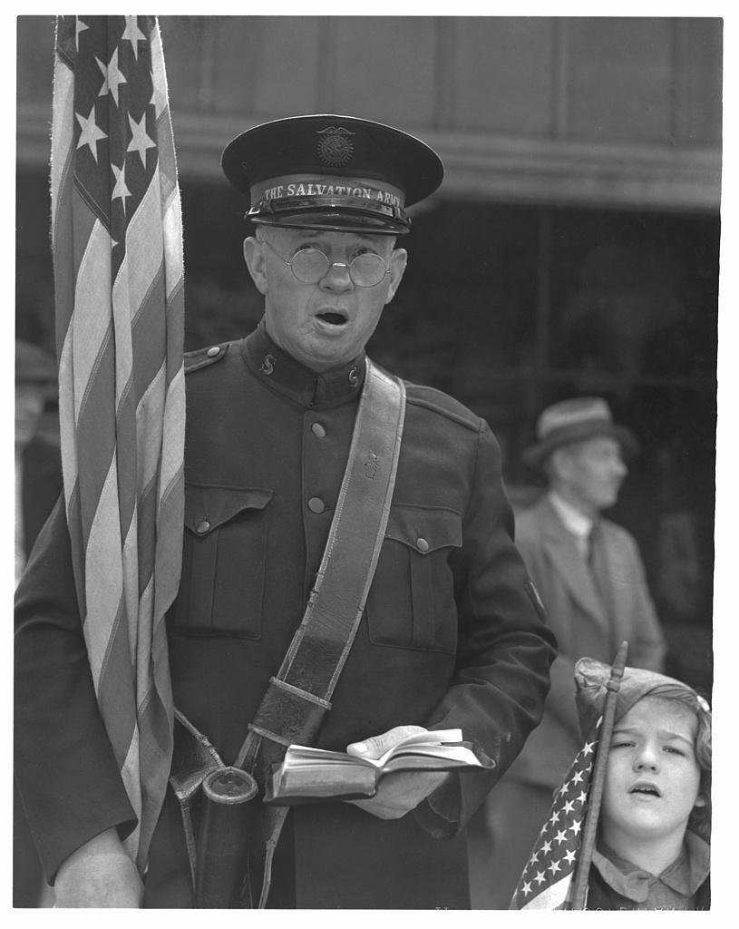 Salvation Army. San Francisco, California