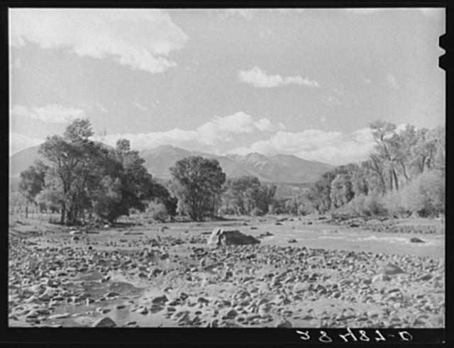 San Luis Creek, Fremont County, Colorado