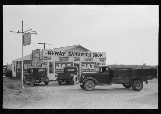Sandwich shop, Waco, Texas