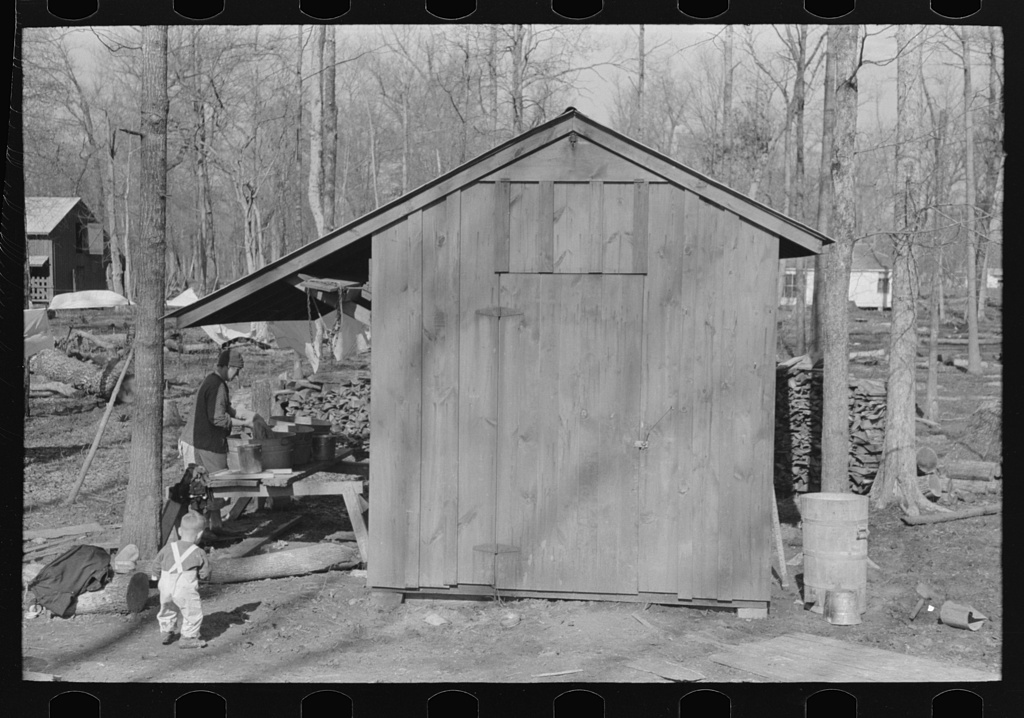 Shed, Chicot Farms, Arkansas