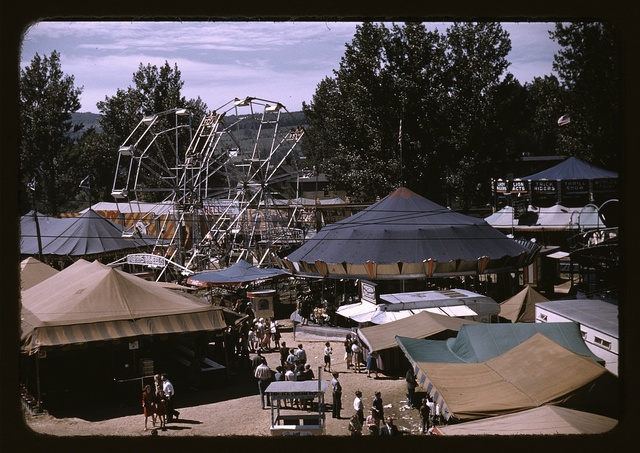 Side shows at the Vermont state fair, Rutland