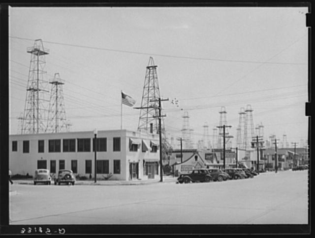 Street scene. Kilgore, Texas