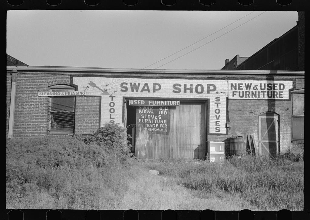 Swap shop, Muskogee, Oklahoma