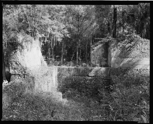 Tabby Fort at Wormsloe, Savannah, Chatham County, Georgia