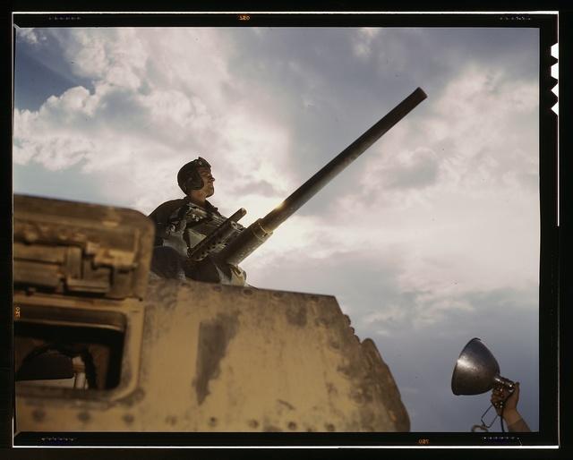 Tank commander, Ft. Knox, Ky.