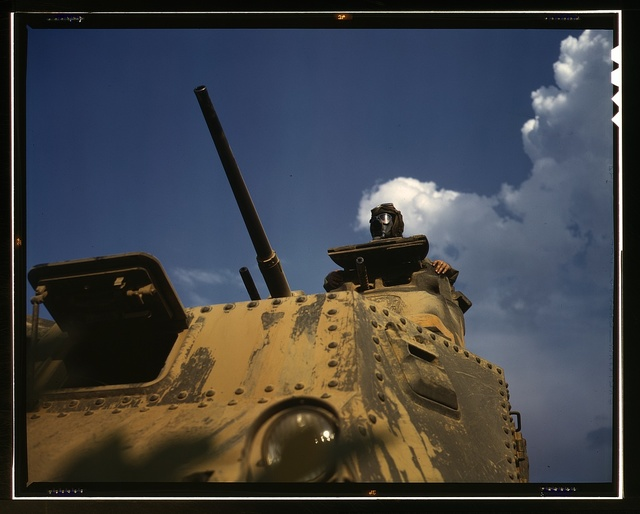 Tank commander, Ft. Knox, Ky.