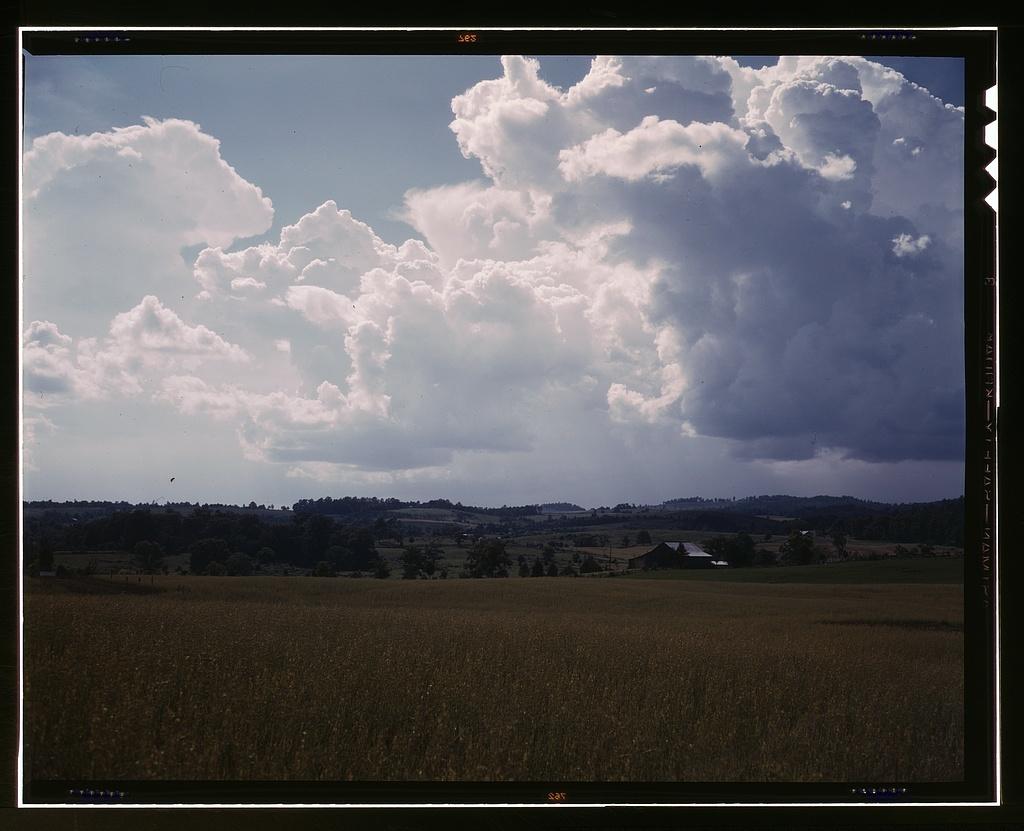 The countryside near the TVA site of the Douglas Dam, Tenn.