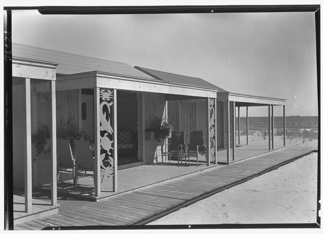The Dunes Club, Narragansett, Rhode Island. Cabana