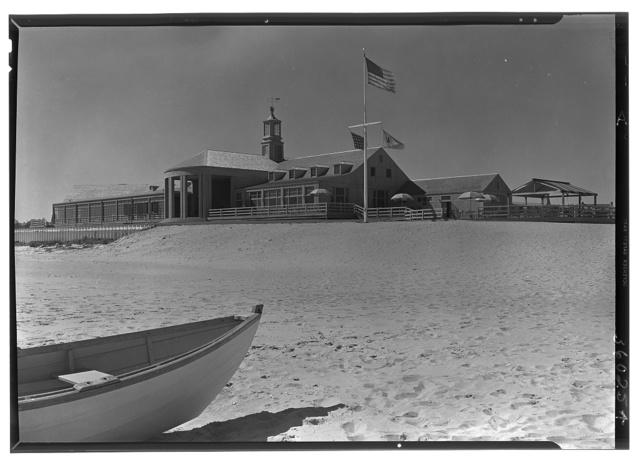 The Dunes Club, Narragansett, Rhode Island. Ocean facade from southeast