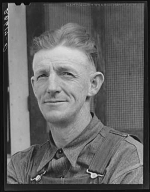 Thomas W. Beede, resettlement client. Western Slope Farms, Colorado
