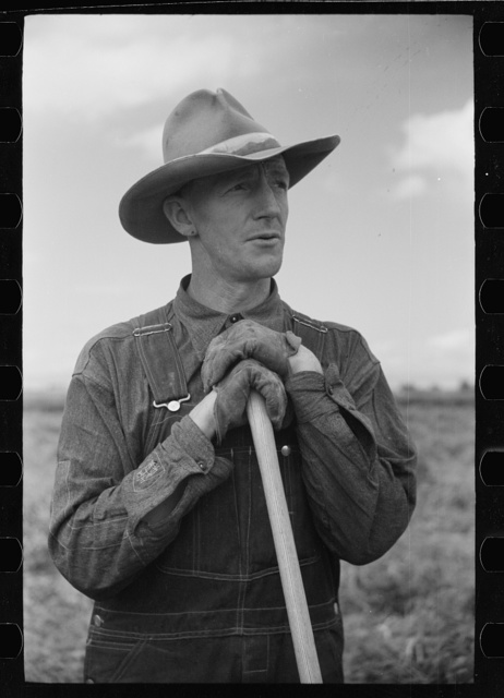Thomas W. Beede, resettlement client, Western Slope Farms, Colorado