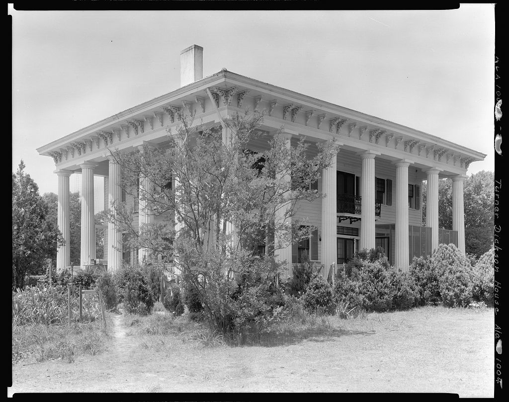 Turner-Dickson House, Lowndesboro vic., Lowndes County, Alabama