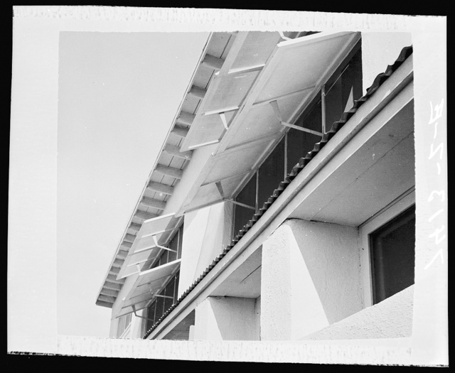 Type of bedroom ventilating flaps. Chandler, Arizona, project