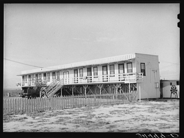 Type of tourist camp at Corpus Christi, Texas