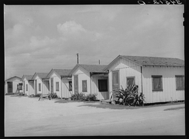 Type of tourist camp. Corpus Christi, Texas