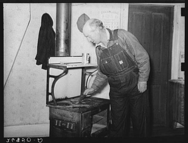 Unemployed coal miner. Bush, Illinois