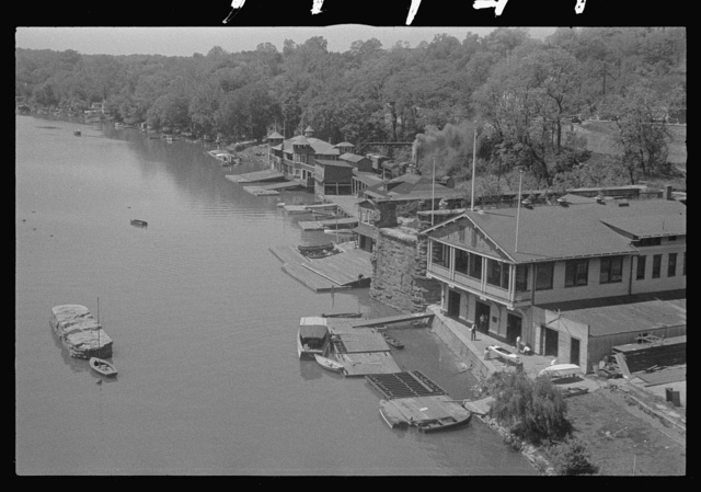Washington, D.C. Boathouses and clubs, near 36th and M Streets in Georgetown