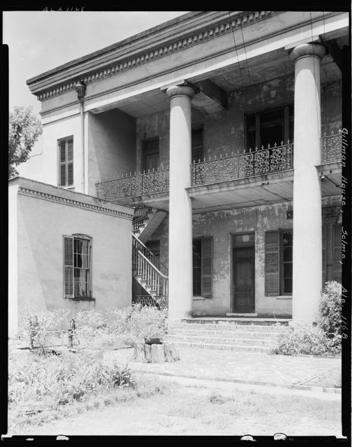 Watts-Parkman-Gillman House, 713 Mabrey St., Selma, Dallas County, Alabama