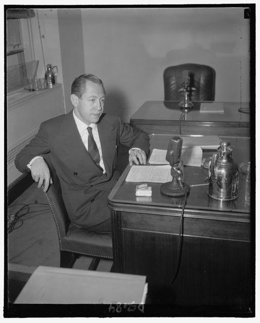 William S. Paley, Pres., CBS, N.Y.