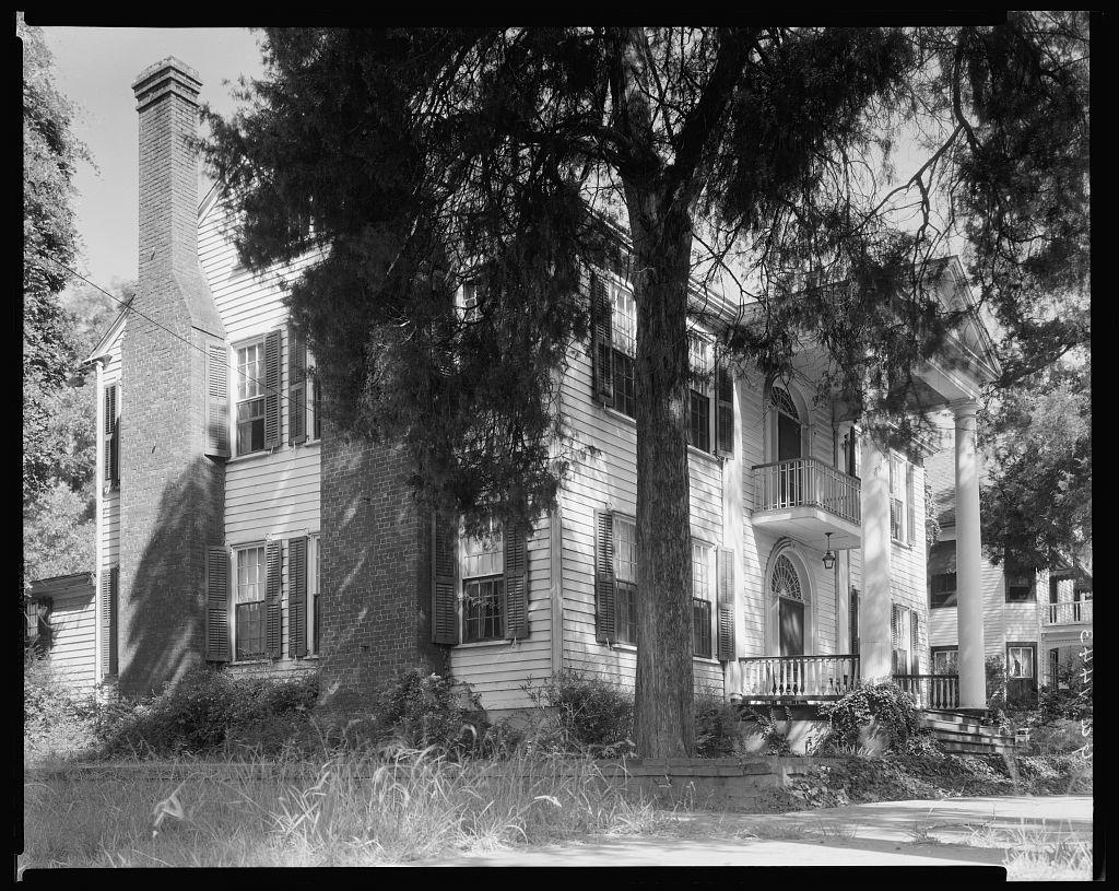 Williams-Orme-Crawford House, 211 Liberty 1835, Milledgeville, Baldwin County, Georgia