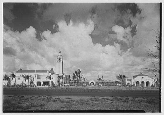World's Fair, Florida building. General west facade, from parkway I