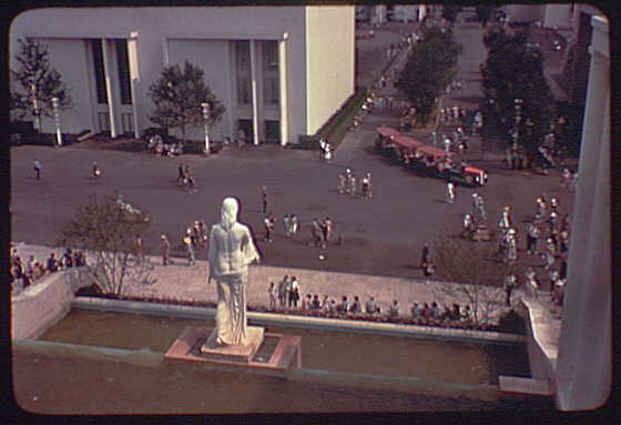 World's Fair. General view from Italian Pavilion