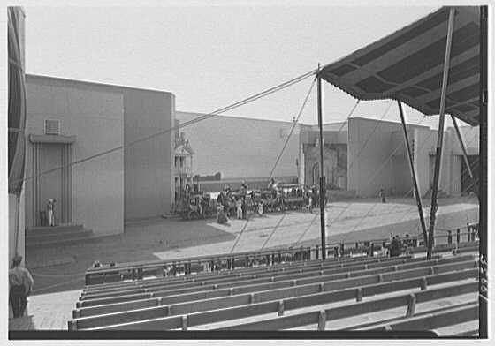 World's Fair, Railroad Building. Pageant, the Dewitt Clinton
