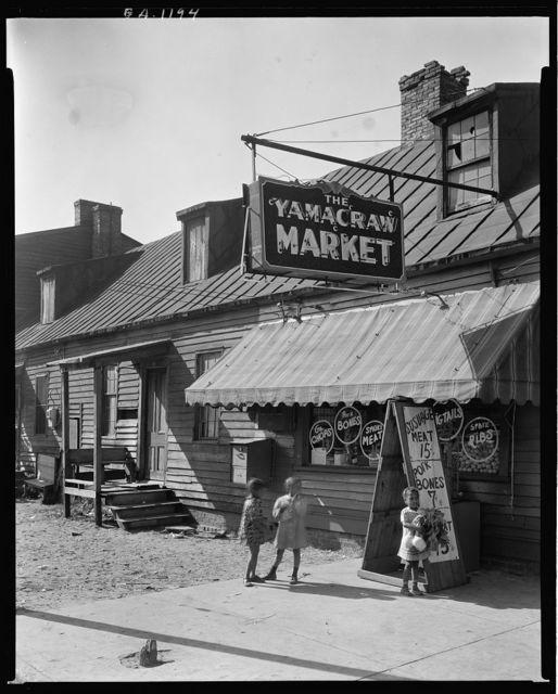 Yamacraw Market, Fahn Street, Savannah, Chatham County, Georgia