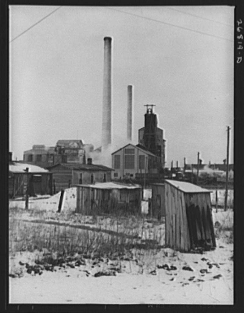 Ziegler number one coal mine. Zeigler, Illinois