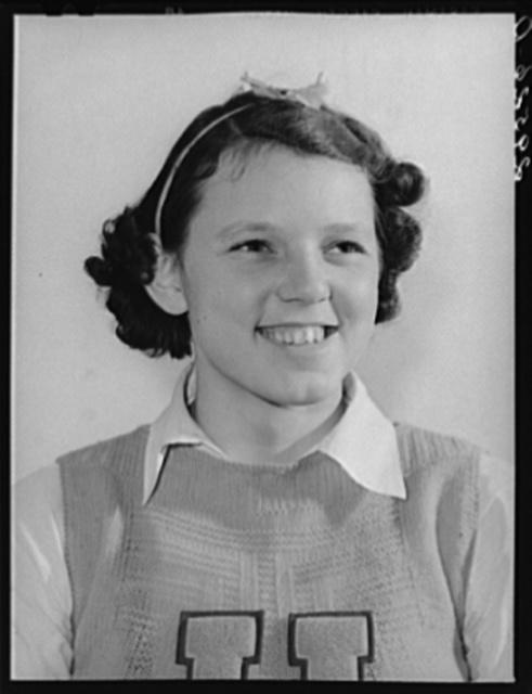 4-H Club girl. Marshalltown, Iowa