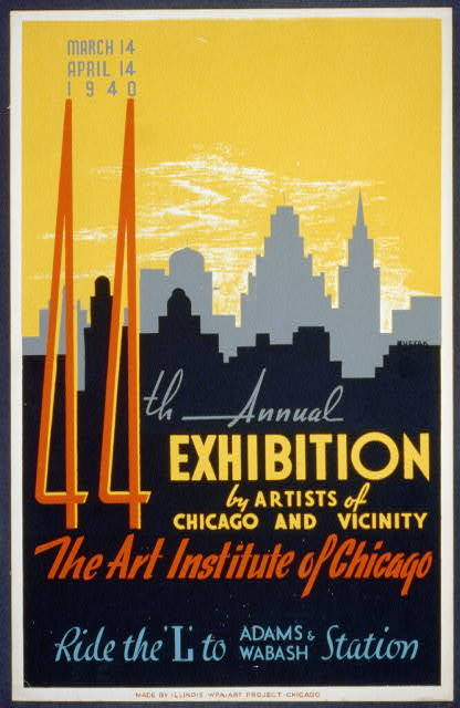 44th annual exhibition by artists of Chicago and vicinity--The Art Institute of Chicago / Buczak.