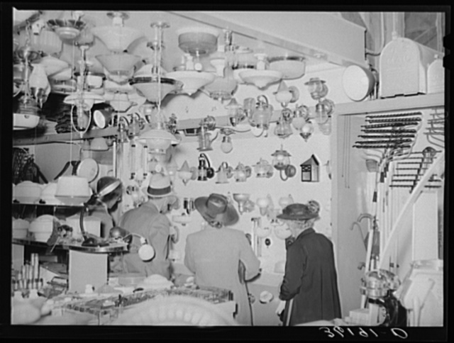 A complete line of electric lighting equipment is carried by the United Producers and Consumers Cooperative of Phoenix, Arizona