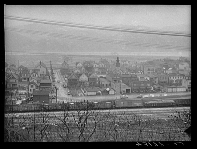 A section of West Aliquippa, Pennsylvania