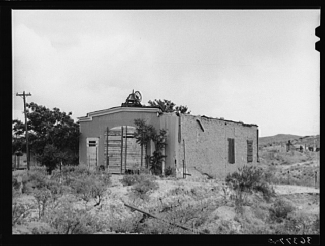Abandoned firehouse at Tombstone, Arizona