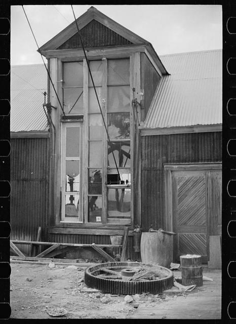 Abandoned mine. Goldfield, Nevada