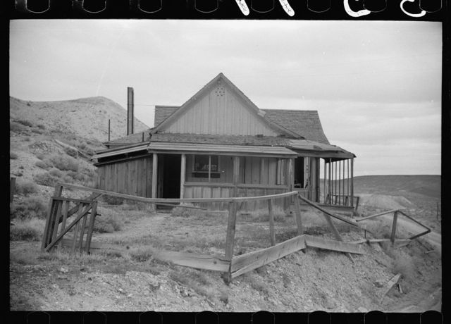 Abandoned mineowner's home. Goldfield, Nevada