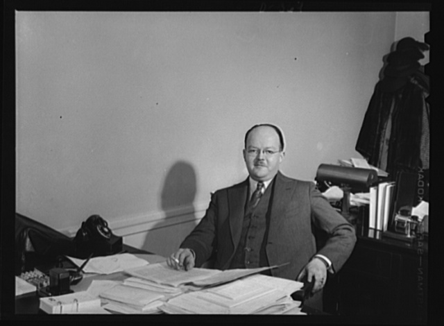A.F. Swinburne, executive assistant, Transportation Division-NDAL; formerly (1920-1940) with Association of American Railroads as chief clerk, Car Service Division