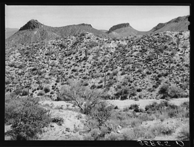 Along the Apache Trail in Gila County, Arizona