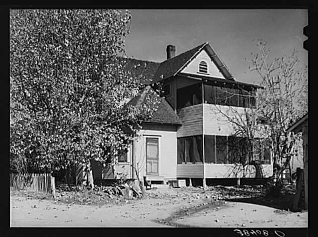 Back of farmhouse. Placer County, California